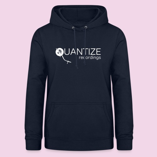 Quantize White Logo - Women's Hoodie