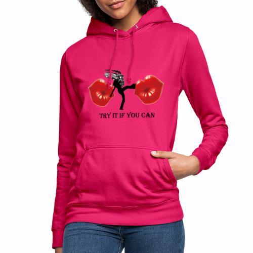 estampado 1 - Sudadera con capucha para mujer