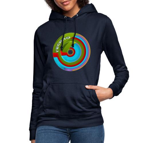 Techno - Sudadera con capucha para mujer