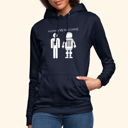 Human VS Machine - Felpa con cappuccio da donna