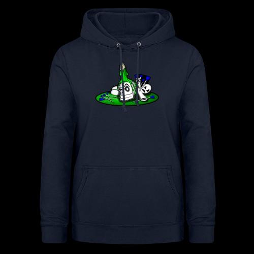 greenSkull svg - Frauen Hoodie