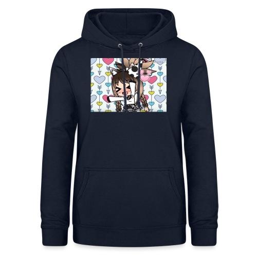 Urodzinowa Yuki! - Bluza damska z kapturem