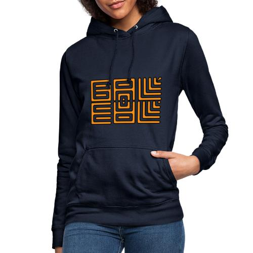Wa-Dee-Ba Orange Edition - Sweat à capuche Femme