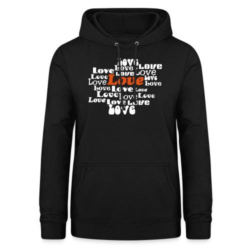 love - Vrouwen hoodie