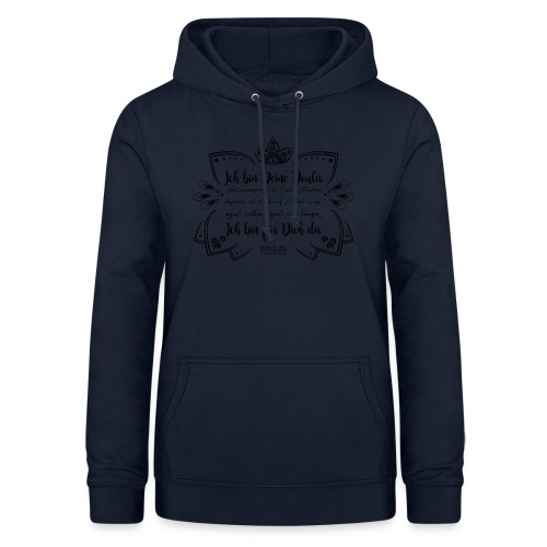 DiD Design schwarz - Frauen Hoodie