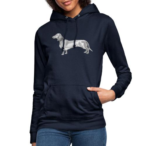 Dachshund smooth haired - Dame hoodie
