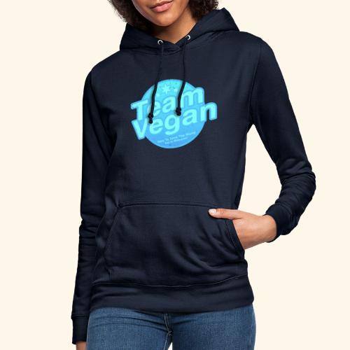 Team Vegan - Here to Save The World - Women's Hoodie