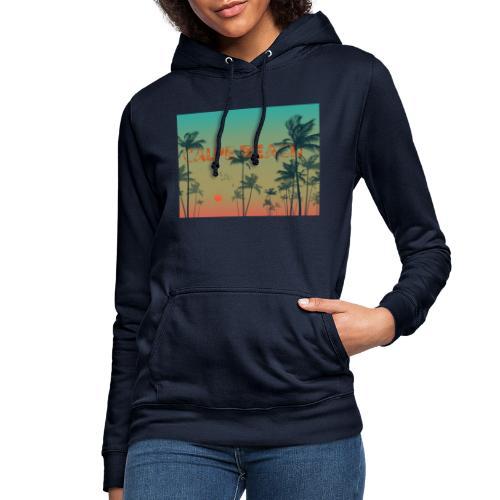 Calpe Beach - Sudadera con capucha para mujer