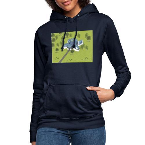 Żółwiarium - Bluza damska z kapturem