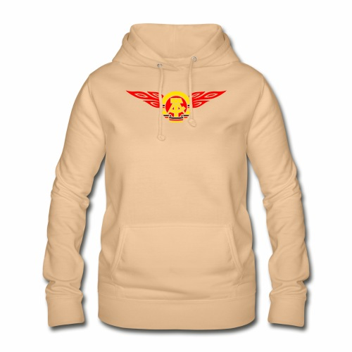GDR flames crest 3c - Women's Hoodie