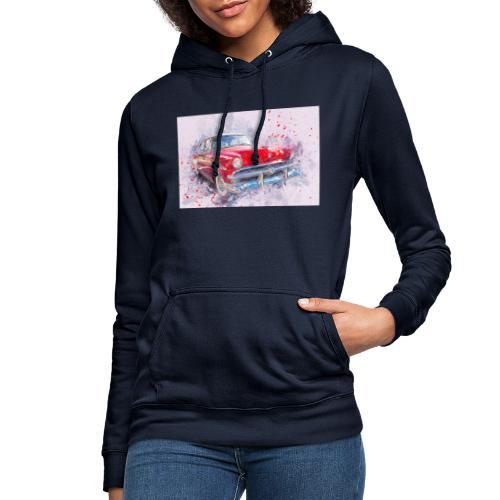 Ein Schönes Retro Auto t-shirt - Frauen Hoodie