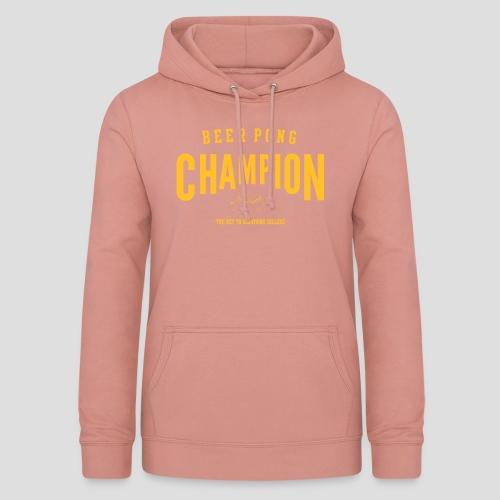 Beerpong Champion T-Shirt - Frauen Hoodie