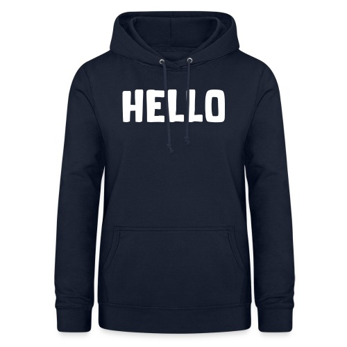 Hello #1 - Frauen Hoodie