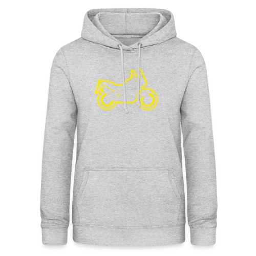at symbolik gelb - Frauen Hoodie