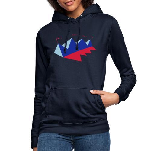 Mountink - Sudadera con capucha para mujer
