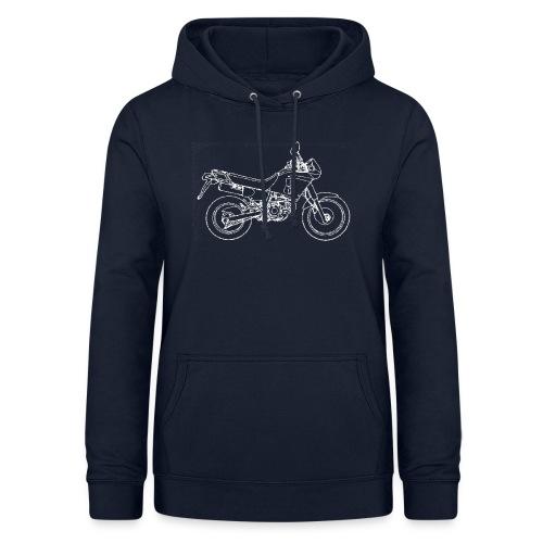 NX line wit - Vrouwen hoodie