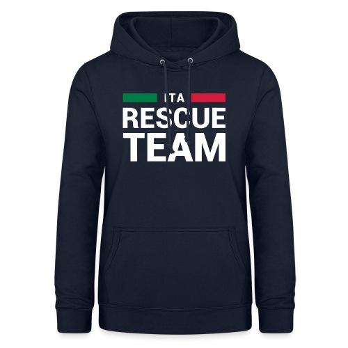 ITA Rescue Team - Felpa con cappuccio da donna