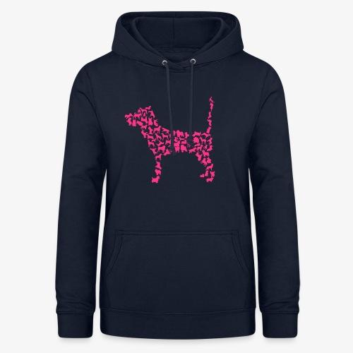 Hunde Kollage - Frauen Hoodie