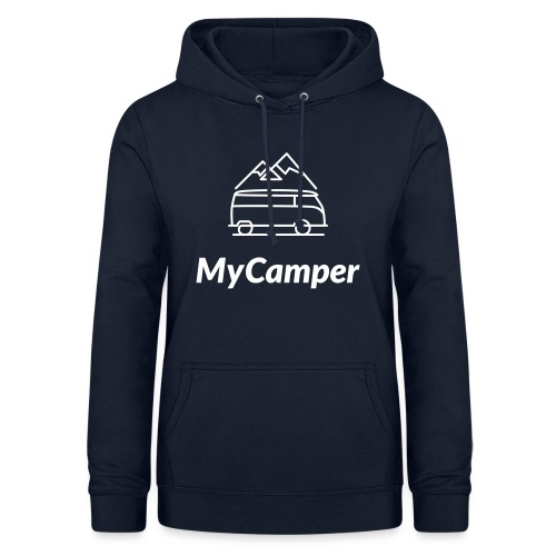 MyCamper Logo Weiss - Frauen Hoodie