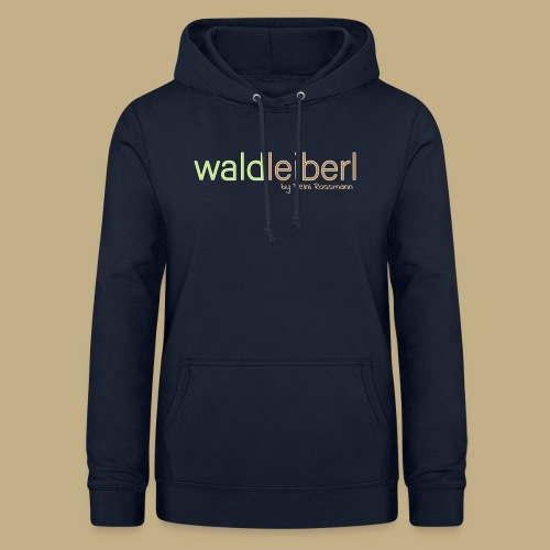 waldleiberl logo by reini rossmann - Frauen Hoodie