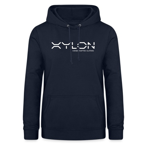 Xylon Handcrafted Guitars (name only logo white) - Women's Hoodie