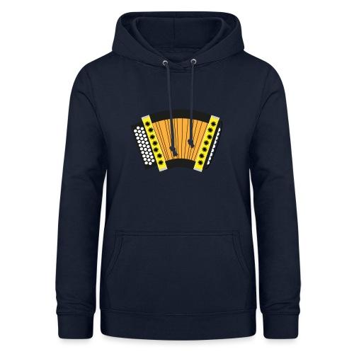 Schwyzerörgeli gelb - Frauen Hoodie