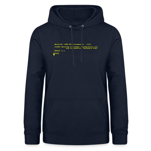 Amstrad CPC 6128 retro gaming and vintage computer - Women's Hoodie