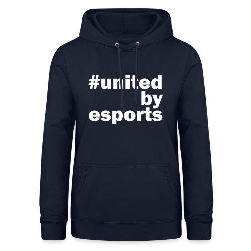 United By Esports weiß - Frauen Hoodie