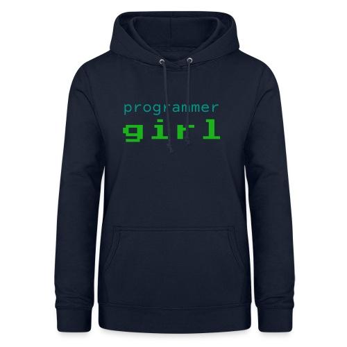 Programmer Girl - Bluza damska z kapturem