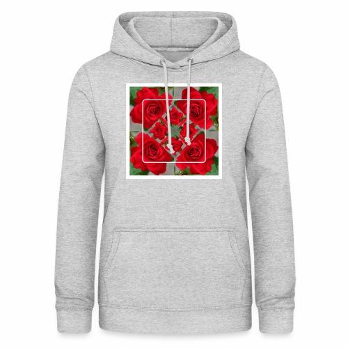 Rose Design - Frauen Hoodie