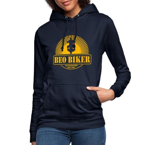 Logo Beo Biker Yellow - Frauen Hoodie