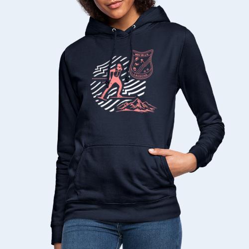 Mountain Skate - Frauen Hoodie