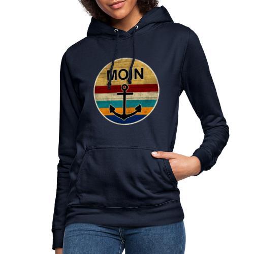 Moin Anker Retro - Frauen Hoodie