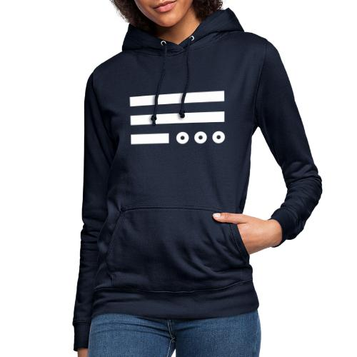 The Day He Is Out Of Office Flag - Frauen Hoodie