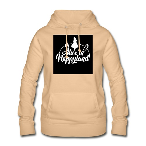 Alice in Nappyland TypographyWhite 1080 - Women's Hoodie