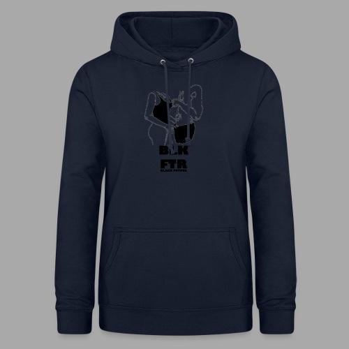 BLK FTR N°2 - Felpa con cappuccio da donna