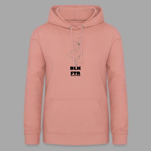 BLK FTR N°7 - Felpa con cappuccio da donna