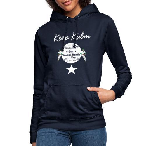 keep kalm baseball - Vrouwen hoodie