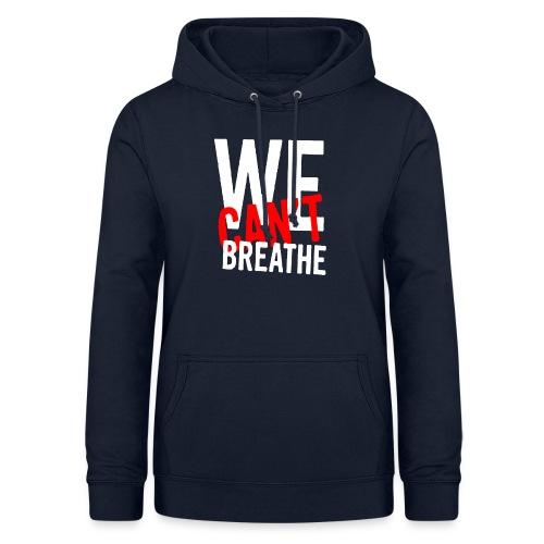 I Can't Breathe Men's T-Shirt Outdoor Sports Shirt - Felpa con cappuccio da donna
