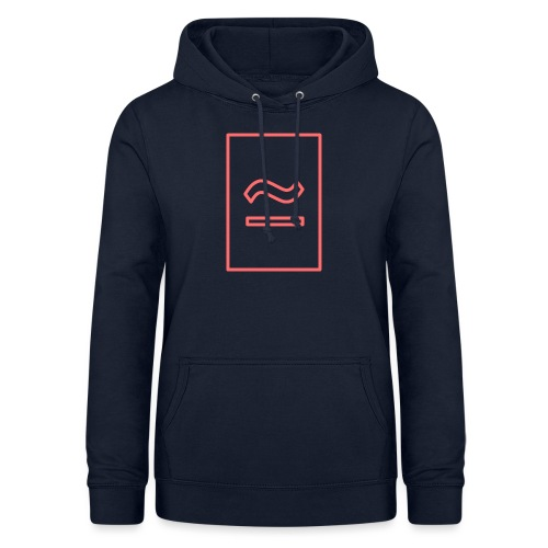 The Commercial Logo (Salmon Outline) - Women's Hoodie
