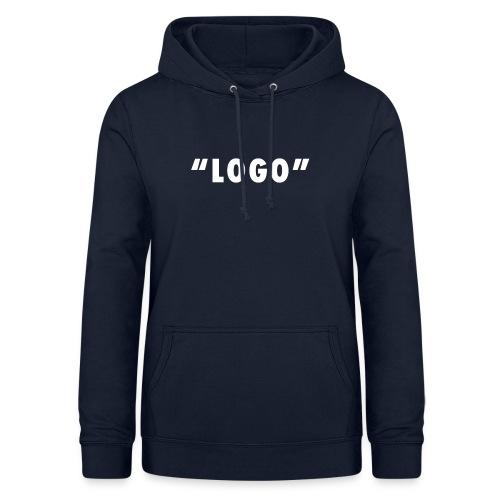 LOGO - Felpa con cappuccio da donna