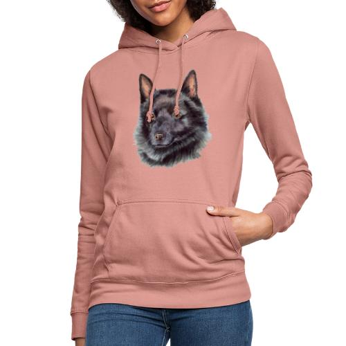 schipperke - M - Dame hoodie