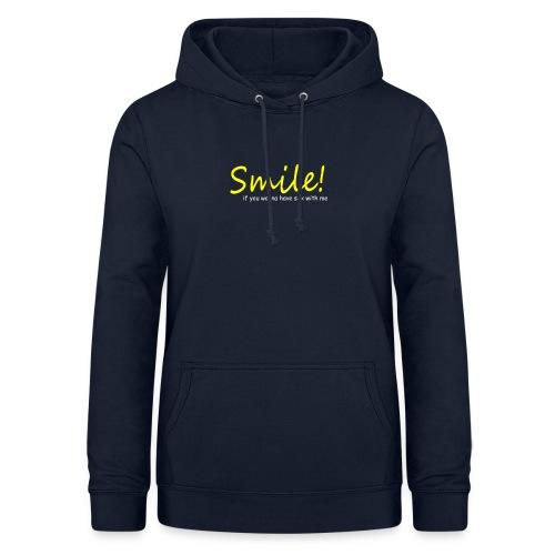 Smile for Sex - Frauen Hoodie
