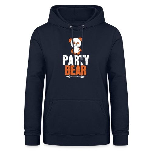 party bear - Vrouwen hoodie
