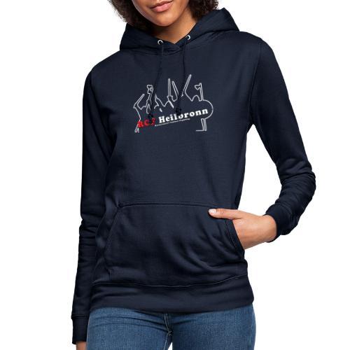 RCF Heilbronn - weißes Logo - klein - Frauen Hoodie
