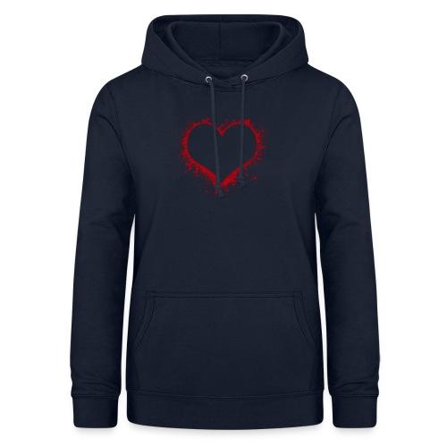 Herz/Heart - Frauen Hoodie
