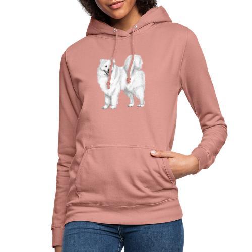 samoyed - Dame hoodie
