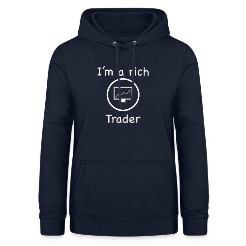 Trader's best t'-shirt - Felpa con cappuccio da donna
