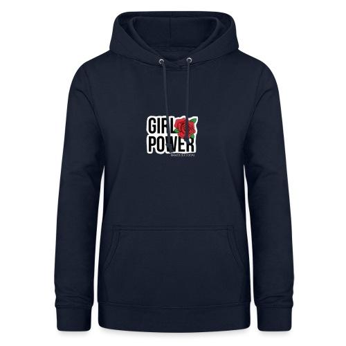Girlpower - Felpa con cappuccio da donna