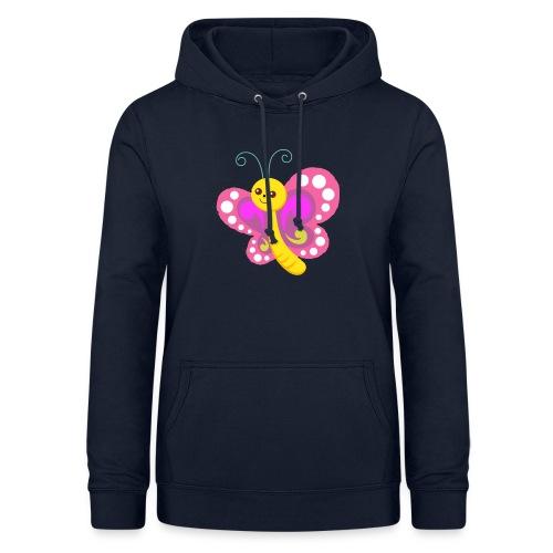 butterfly - Frauen Hoodie